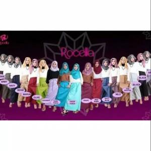 [XXL-3XL] Original Rocella Rok Celana Rania Bawahan Fashion Wanita