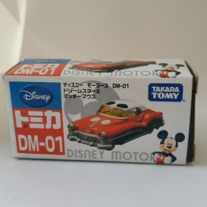 Tomica Disney Mickey Mouse car
