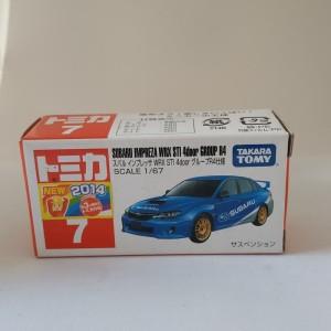 Tomica Subaru Impreza WRX STI