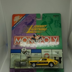 Jhonny Lightning Monopoly Ford Mustang