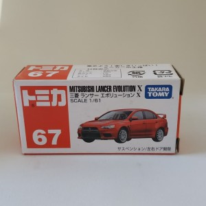 Tomica Mitsubishi Lancer Evo X