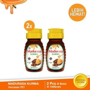 Madurasa Kurma Botol 150 gr Pet (bundle 2pcs)