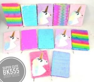 Jual Buku lucu Buku Unicorn Diary Book motif sequin, unicorn, bulu bulu - Kota Surabaya - gwens baby shop | Tokopedia