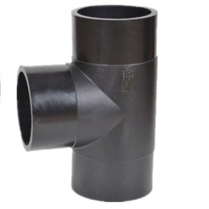 Fitting Injection Equal Tee Ukuran 250mm atau 10 inchi