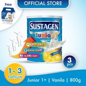 Sustagen Junior Susu Pertumbuhan Vanila 2400g Free Lock and Lock