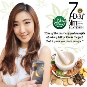 7 Day Slim Platinum Plus Collagen | Pelangsing 7 day slim | 7 Day Slim