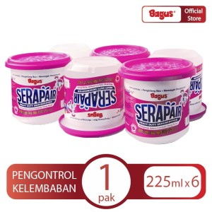 Bagus Serapair 225 ml X 6 Pack