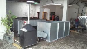 Mesin Pengering Padi Biji bijian / Bed dryer 500 kilo