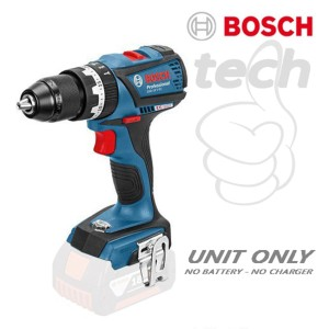 Mesin Bor Tembok Baterai Cordless Drill Bosch GSB 18 V-EC - Unit Only