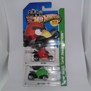 Hotwheels Angri Bird set