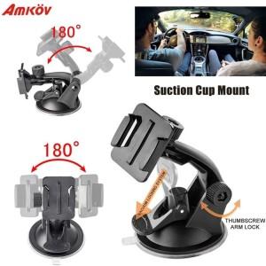 Suction Cup Car Holder Kamera Aksi For GoPro Xiaomi Yi Xiaomi Yi