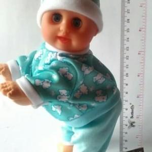 Mainan boneka bayi menari lucu, crawling & dancing baby