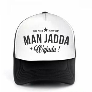 Topi Trucker Man Jadda Wa Jadda