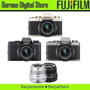 Fujifilm X-T100 XC 15-45mm Bundling PWP Fujinon 23mm F2 Garansi Resmi