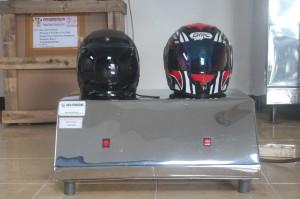 Mesin Pengering Helm 2 Tungku Type Gas.