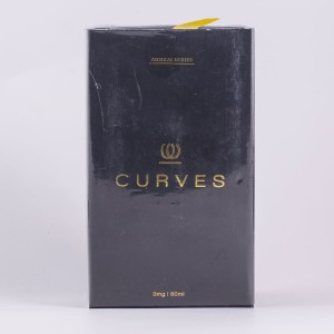 CURVES ANNUAL SERIES GOLDEN BEARD BY JRX 60ML PREMIUM E LIQUID VAPE