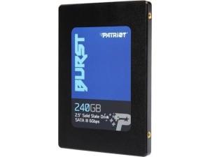 """Patriot 240GB Burst 2.5"""" SATA III SSD Drive"""