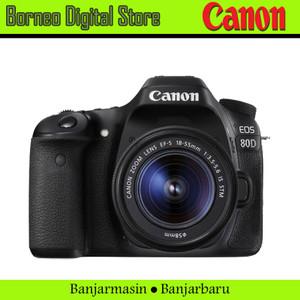 CANON EOS 80D EF-S 18-55mm IS STM Garansi Resmi