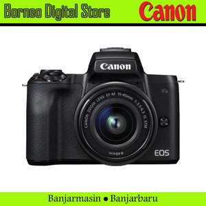 Canon Eos M50 / M50 Kit 15-45mm Garansi Resmi
