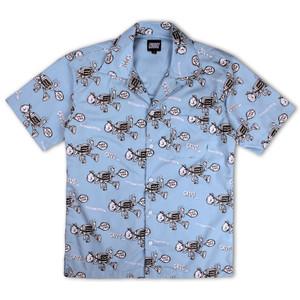 Crooz Media Abuse Aloha Shirt