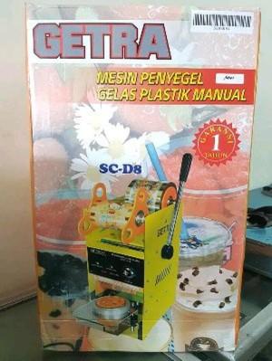Jual Ready Mesin Penyegel Gelas Plastik Cup Sealer Getra