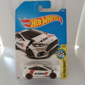 Hotwheels Ford Focus RS Koni