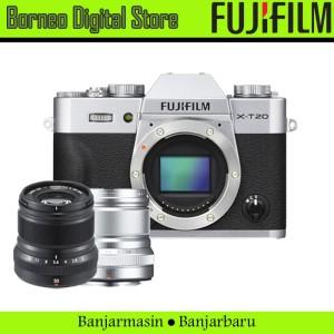 Fujifilm X-T20 Body PWP Fujinon 50mm F2 Garansi Resmi