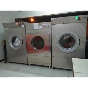Mesin Pengering Pakaian Model Putar / Tumble Dryer 55kg