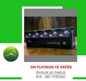 SIN HERBAL PLATINUM TSI KRETEK PER SLOP