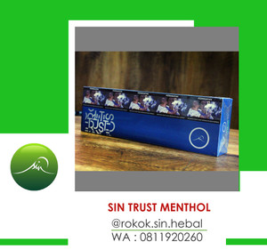 SIN HERBAL TRUST MENTHOL FILTER PER SLOP