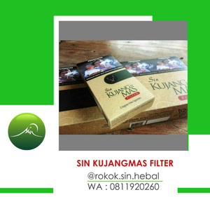 SIN HERBAL KUJANG MAS FILTER PER SLOP