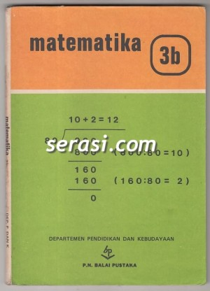 BALAI PUSTAKA - MATEMATIKA 3B