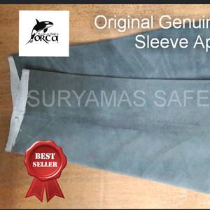 Apron lengan kulit Best Quality/Apron las ORCA