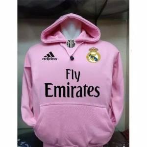 Jaket Real Madrid pink