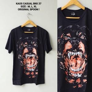 T-Shirt Kaos Casual Spoon BKK 37