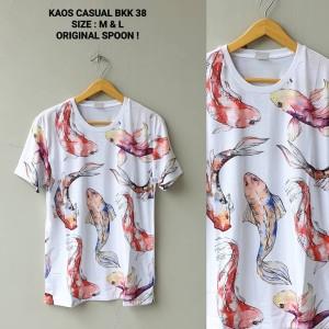 T-Shirt Kaos Casual Spoon BKK 38