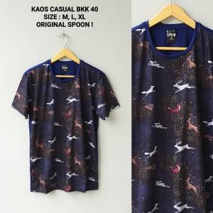 T-Shirt Kaos Casual Spoon BKK 40