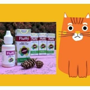 Fluffy Tonic Anti Kutu Kucing Natural