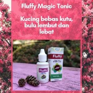 Fluffy Magic Tonic Kucing Aman