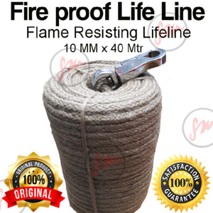 Tali anti api/Fire proof lifeline/Anti flame resisting lifeline
