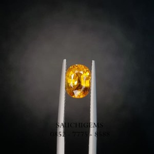 SG-041 HIGH QUALITY PERFECT YELLOW SAPPHIRE VERY GOOD SPARKLING