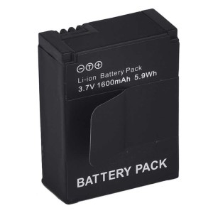 Battery Replacement 1600mAh for GoPro HD Hero 3/3+ - AHDBT-301