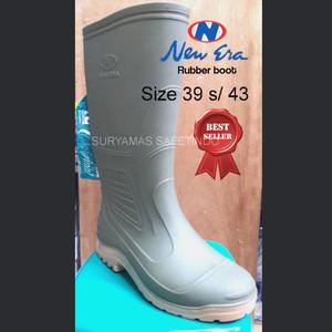 sepatu boot karet/sepatu boot Ap/sepatu boot tinggi NEW ERA murahbagus