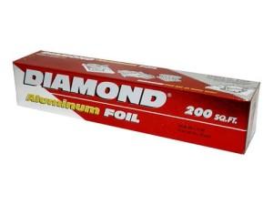 Diamond Aluminium Foil 7,62 meter x 45 cm