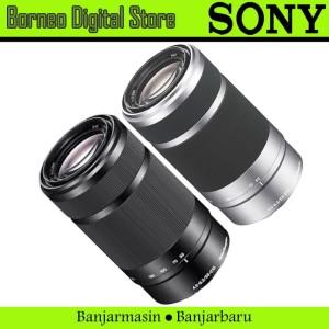 Sony lensa 55-210 mm f4.5-6.3 OSS silver