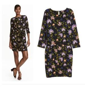 Dress Floral Wanita H&M Baju Branded Original Murah