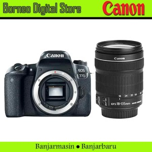 Canon EOS 77D 18-135mm F3.5-5.6 IS USM Garansi Resmi