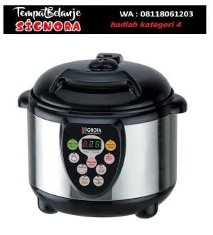 Signora Presto Listrik 3 LT / Liter panci elektrik masak praktis