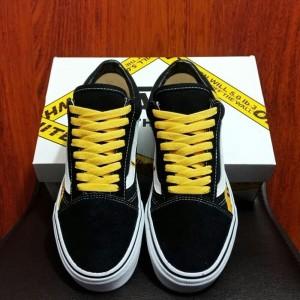 Vans Oldskool Off White Willy Black Yellow Import Bnib Premium Ori