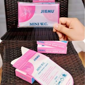 4X Pink Disposable 700Cc Urine Storage Bag Emergency Toilet Travel For Unisex JS